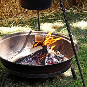 Die Feuerschale Im Garten   Urlaubsflair Zuhause!