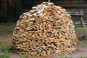 Brennholzlager Holzmiete Bauen Anleitung Zum Selber Machen