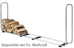 brennholz stapelhilfe als kaminholzlager tipps infos. Black Bedroom Furniture Sets. Home Design Ideas